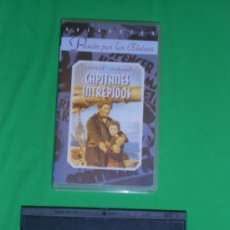 Cine: CAPITANES INTREPIDOS - VHS - SPENCER TRACY - MICKEY ROONEY. Lote 37087623
