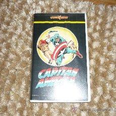 Cine: PELICULA VHS EL CAPITAN AMERICA GOLD STAR 1987 ¡ PIEZA PARA COLECCIONISTAS ! APROX 50. Lote 37106794