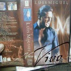 Cine: LUIS MIGUEL EN VIVO--COMPRA MINIMA 6 EU VHS. Lote 37128286