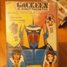 Cinema: GACKEEN EL ROBOT MAGNETICO. Lote 37212405