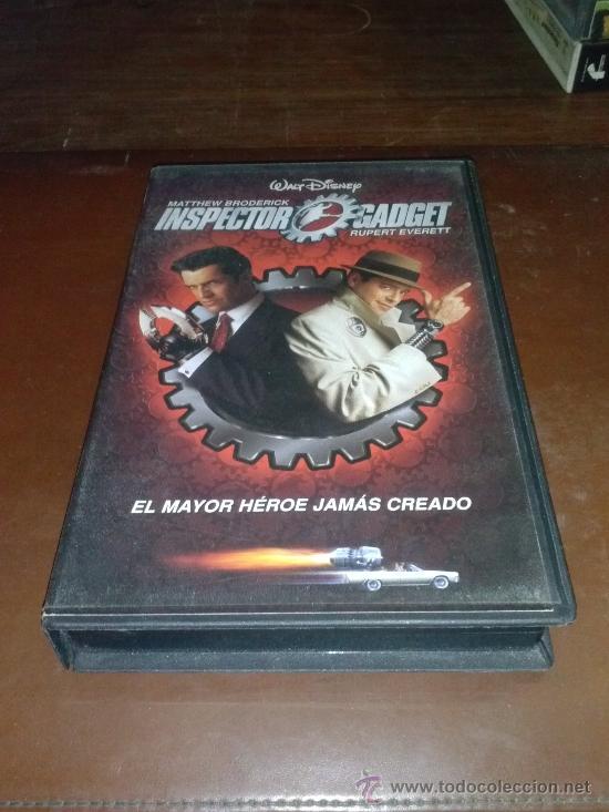 VHS INSPECTOR GADGET MATTHEW BRODERICK (Cine - Películas - VHS)