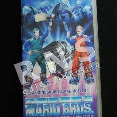 Cine: SUPER MARIO BROS LOS DINOSAURIOS HAN VUELTO - PERSONAJE DE VIDEOJUEGO NINTENDO PELÍCULA AVENTURA VHS. Lote 37466674