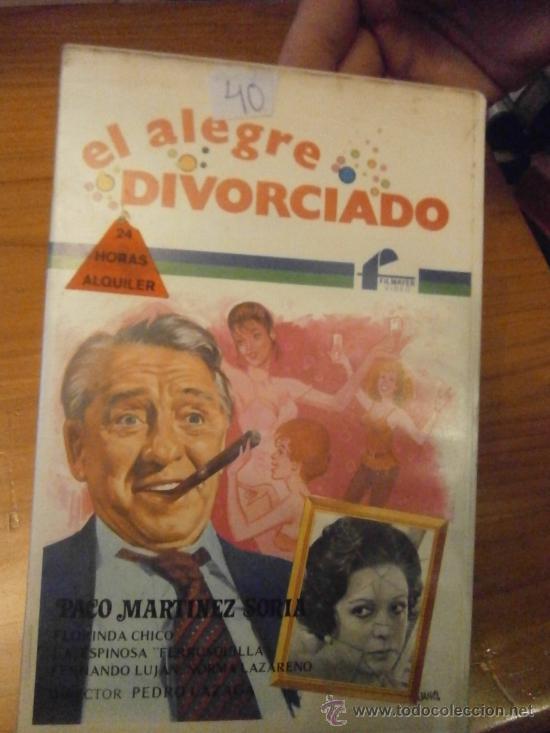 EL ALEGRE DIVORCIADO-VHS (Cine - Películas - VHS)