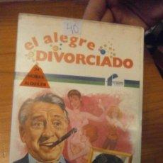 Cine: EL ALEGRE DIVORCIADO-VHS. Lote 37498460