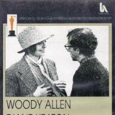Cine: ANNIE HALL. DIRIGIDA POR WOODY ALLEN (VHS). Lote 37512761