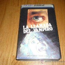 Cine: PELICULA VHS LA LLAMADA DEL VAMPIRO BUEN PRECIO TERROR . Lote 37550245