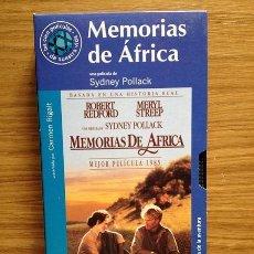 Cine: MEMORIAS DE ÁFRICA DE SIDNEY POLLACK COLECCIÓN EL MUNDO - LAS CIEN PELÏCULAS DE NUESTRA VIDA - Nº 8. Lote 37611994