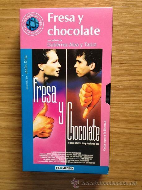FRESA Y CHOCOLATE COLECCIÓN EL MUNDO - LAS 100 PELICULAS DE NUESTRA VIDA - Nº 89 (Cine - Películas - VHS)