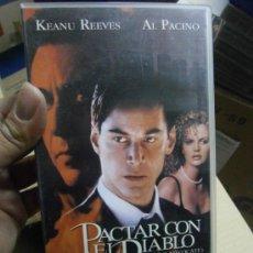 Cine: PACTAR CON EL DIABLO-VHS. Lote 37625529