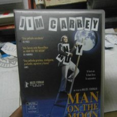 Cine: JIM CARREY- MAN ON THE MOON - VHS. Lote 37625729