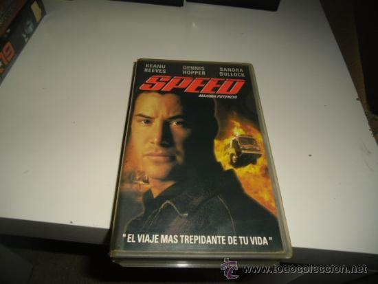 SPEED VHS BENITO (Cine - Películas - VHS)