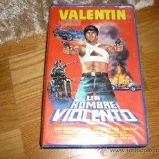 Cine: ÈLICULA VHS UN HOMBRE VIOLENTO - VALENTIN TRUJILLO - KINKI PEDIDO MINIMO 6€ . Lote 37814808