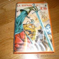 Cinéma: PELICULA ANIMACION VHS EL CID DE M. INGLESIAS CON SANDRO MORRETI MUY RARA !!!!. Lote 37816113