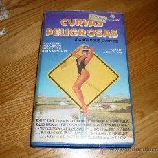 Cine: PELICULA HUMOR 80 HARDBODIES : CURVAS PELIGROSAS (1984) VHS . Lote 37816188