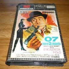 Cine: PELICULA VHS CASSEN 07 CON EL 2 DELANTE VERSION SEXY COMICA DE JAMES BOND CARATULA 1ª EDICION . Lote 37820932
