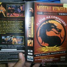 Cine: MORTAL COMBAT -VHS. Lote 37927100
