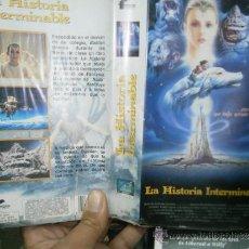 Cine: LA ISTORIA INTERMINABLE-VHS. Lote 38163024