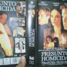 Cine: PRESUNTO HOMICIDA-VHS. Lote 38180297