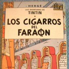 Cine: LAS AVENTURAS DE TINTIN - LOS CIGARROS DEL FARAON - VHS NUEVO.. Lote 38377430
