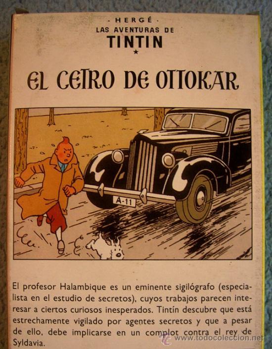 Cine: LAS AVENTURAS DE TINTIN - EL CETRO DE OTTOKAR - VHS NUEVO. - Foto 3 - 38377405