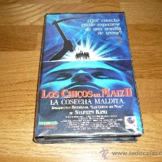 Cine: PELICULA VHS LOS CHICOS DEL MAIZ II VHS ORIGINAL RECORD VISION 1993 90`APROX. Lote 38412818