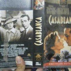 Cine: CASA BLANCA-VHS. Lote 38438579