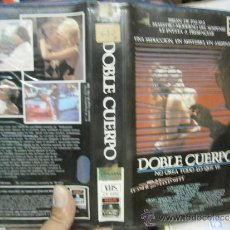 Cine: DOBLE CUERPO -VHS. Lote 38496557