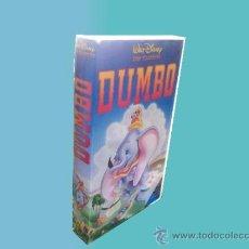 Cine: VHS -- WALT DISNEY -- DUMBO. Lote 38610884