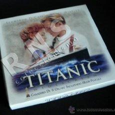 Cine: TITANIC DE JAMES CAMERON PELÍCULA Y CAJA - KATE WINSLET - LEONARDO DICAPRIO - CINE VHS. Lote 38667360