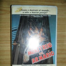 Cine: EL MONSTRUO DEL ARMARIO (1986) VHS - TROMA - COMEDIA - TERROR. Lote 38677094