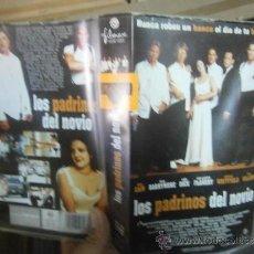 Cine: LOS PADRINOS DEL NOVIO -VHS. Lote 38729458