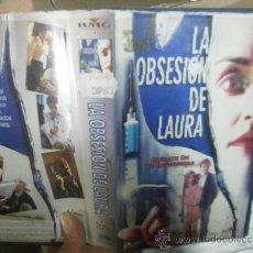 Cine: LA OBSESION DE LAURA -VHS. Lote 38732421