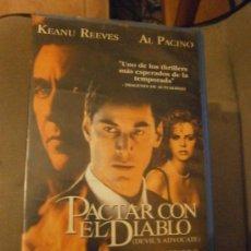 Cine: PACTAR CON EL DIABLO -VHS. Lote 38821365