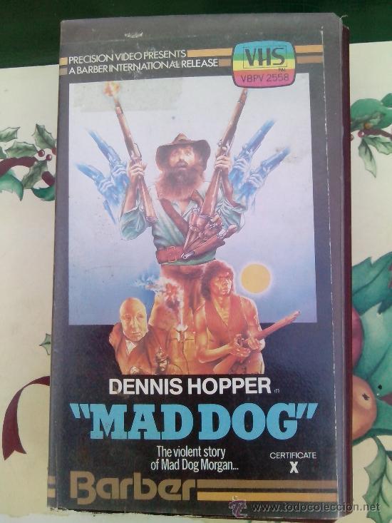 MAD DOG - VHS - DENNIS HOPPER - INGLES - ENGLISH (Cine - Películas - VHS)