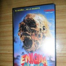Cine: ENIGMA ALFA (1977) VHS – TERROR. Lote 38864350