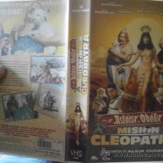 Cine: ASTERIX Y OBELIX /MISION CLEOPATRA -VHS. Lote 38894268