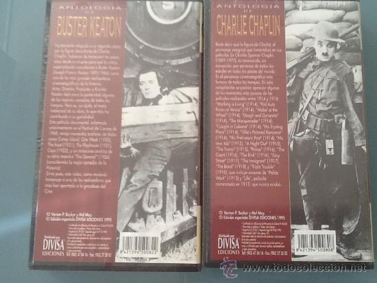 Cine: Charlie Chaplin y Buster keaton VHS precintadas - Foto 2 - 38957743