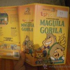 Cinema: MAGUILLA ,GORILA / DOBLE -VHS. Lote 39071637