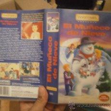 Cine: EL MUÑECO DE NIEVE -VHS. Lote 39071691