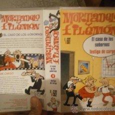 Cine: MORTADELO Y FILEMON -VHS. Lote 39071866