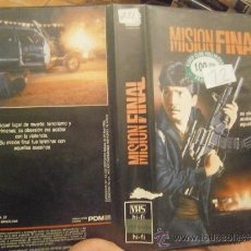 Cine: MISION FINAL-VHS. Lote 39129197