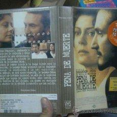 Cine: PENA DE MUERTE -VHS. Lote 39235284
