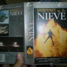 Cine: VACACIONES EN LA NIEVE -VHS. Lote 39302960