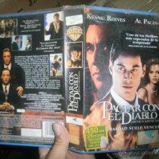 Cine: PACTAR CON EL DIABLO-VHS. Lote 39303485