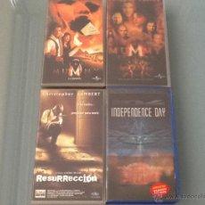 Cine: LOTE 4 CINTAS VHS. Lote 39447706