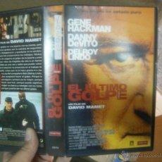 Cine: EL ULTIMO GOLPE -VHS-VHS-VENTA MINIMA 10 EU-. Lote 39455383