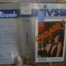 Cine: CABARET -VHS. Lote 39497182