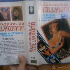 Cine: ESCANDALO EN HOLLYWOOD -VHS. Lote 39497200