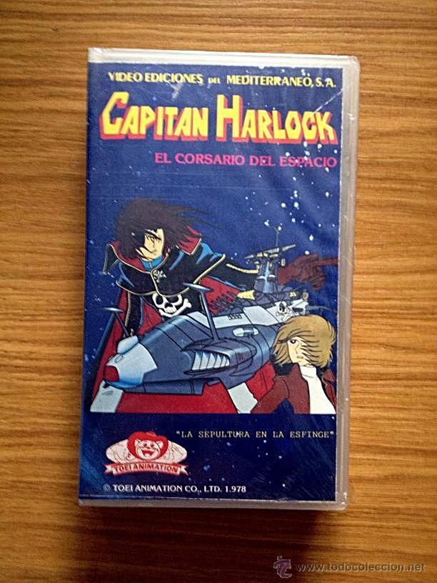 VHS CAPITAN HARLOCK (Cine - Películas - VHS)