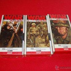 Cine: LOTE DE 3 VHS, WAR.. Lote 39627025